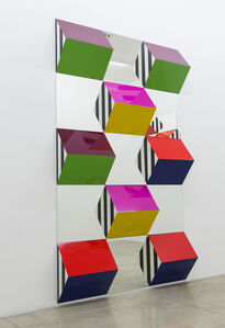 Prisms and Mirrors, high reliefs,  situated works 2016/2017 for Sao Paolo