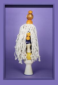 """""""Citrus, ceramic and mop on purple"""""""