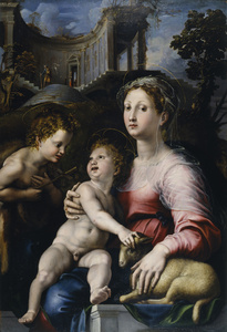The Madonna and Child with Saint John the Baptist