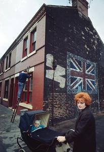Redhead with Pram, Liverpool