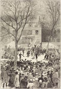 Manifestation populaire du 27 Février pour fêter le 80 année de Victor Hugo