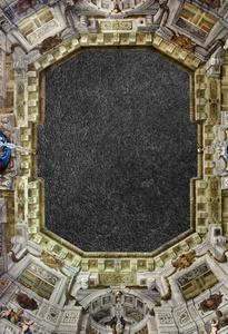 Asphalt Painting 1 / Schloss Belvedere Vienna