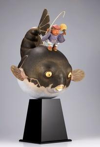 Ebisu-doji Oofuguwo-tsuru / 恵比須童子 大富久を釣る