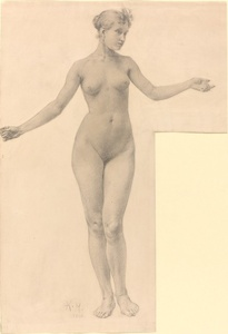 Female Nude with Outstretched Arms