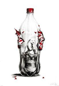 Always Coca Cola polar bear environmental satrical