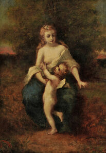 Mother and Child (possibly Venus et l'Amour)