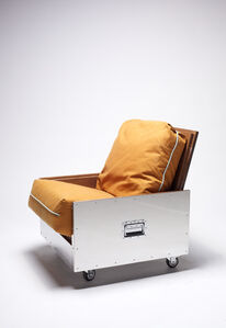 Expandable Crates Sofa Chair | CRATES Series, 2014