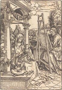 Saint Luke Painting the Portrait of the Virgin