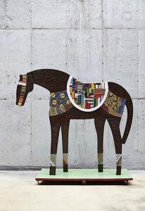 Horse - Emerald Green Pedestal