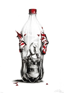 Always Coca Cola polar bear environmental satrical