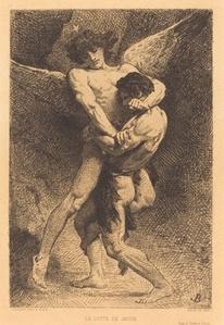 La Lutte de Jacob (Jacob Wrestling with the Angel)