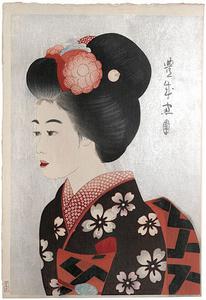 Maiko (black mica on obi)