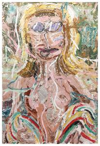 Untitled Nude (Beach Towel),