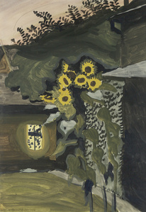 Sunflowers at Late Dusk