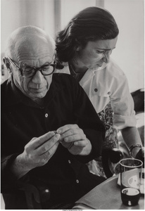 Picasso and Jaqueline