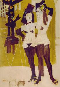 Girls From Fleugel Street (Study)