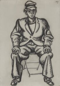 Homme Assis (Seated Man)