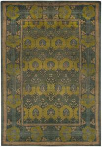 Vintage Arts and Crafts Voysey Rug, BB6584