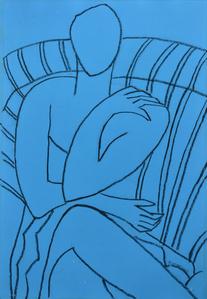 Blue Mono