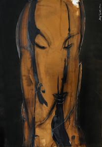 Calligraphic Woman