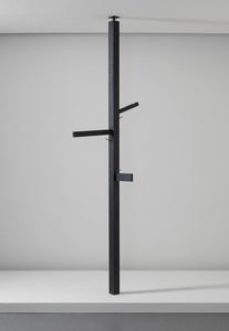 Pole lamp, from Museum Tower, New York