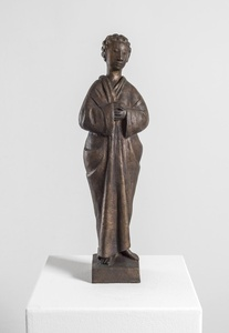 Standing Robed Figure with Curls