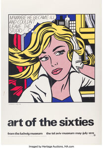 Art of the Sixties, exhibition poster