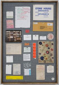 Musterbrett (Sample Board) No. 1