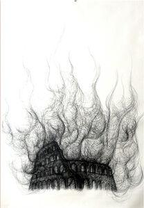 Burning Colosseum