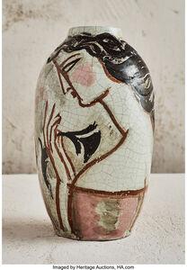 Deux Femmes Vase