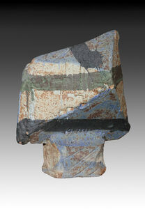Ceramic Slab Construction Sculpture
