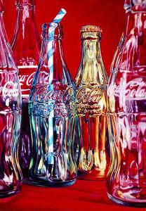 Coke and Stripey Straw