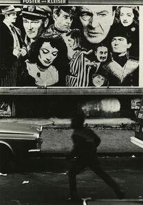 Boy and Movie Poster, Harlem, New York City