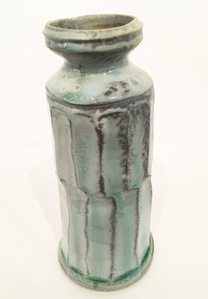 Faceted Porcelain Vase