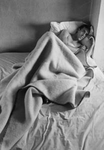 David Wojnarowicz in Bed