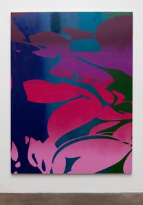 Large Floral (purple, pink, blue, green)