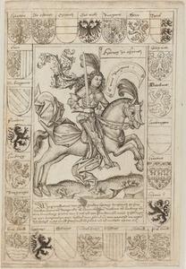 Maximilian, Duke of Austria, on Horseback