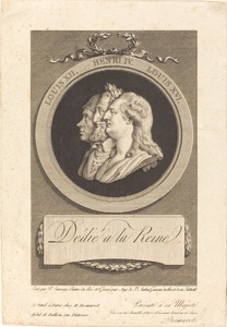 Louis XVI, Henri IV, and Louis XII