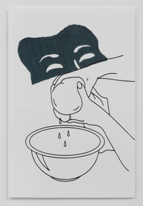 Portrait Series I: Drama Runny Cheese Cloth Nose into a Bowl Mouth