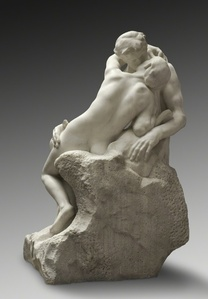 The Kiss at the Rodin Museum