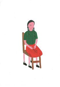 Woman-chair