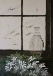 Decanter on Windowsill