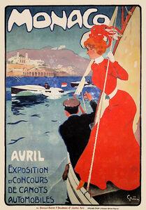 Monaco Avril - Exposition et Concours de Canots Automobiles - Speedboat