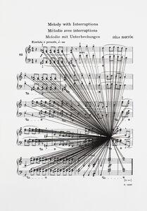 Mass Black Implosion (Mikrokosmos: Melody with Interruptions, Bela Bartok)