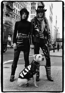 On the Street, Flip Family, NYC, 1987