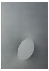 Un ovale grigio