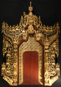 Burmese Architectural Surround