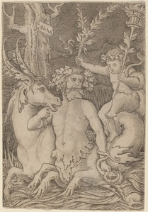 Triton Carrying a Child