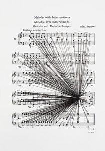 Mass Black Implosion (Mikrokosmos: Melody with Interruptions, Bela Bartok)