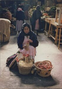 Strawberry Woman, Morelia, Mexico